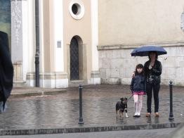 Performance by Hortense Gauthier _ avril 2013 _ Krakow (Poland) // public reactions